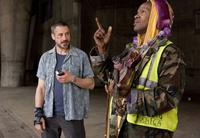 Robert Downey Jr. as Steve Lopez and Jamie Foxx as Nathaniel Ayers in