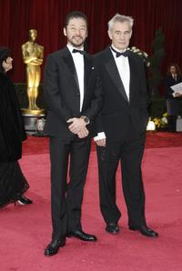 Tadanobu Asano and Director Sergei Brodov at the 80th Annual Academy Awards.
