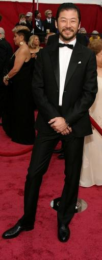 Tadanobu Asano at the 80th Annual Academy Awards.