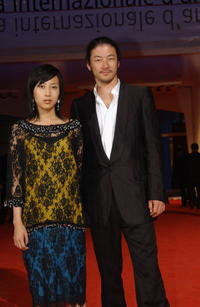 Tadanobu Asano and Yo Hitoto at the 61st Venice Film Festival.