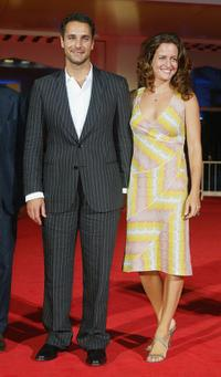 Raoul Bova and Chiara Giordano at the premiere of