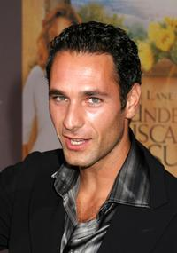 Raoul Bova at the premiere of