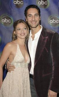 Amanda Detmer and Raoul Bova at the ABC Winter Press Tour All Star party.