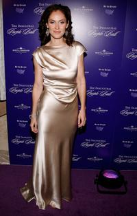 Amy Brenneman at the Inaugural Purple Ball.