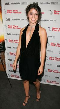 Shiri Appleby at the screening of