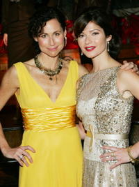 Minnie Driver and Jill Hennessy at the Escada Fall/Winter 2006 Collection.