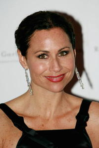 Minnie Driver at the Raisa Gorbachev Foundations Second Annual Gala.