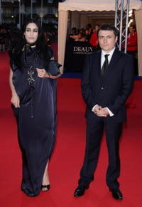 Ronit Elkabetz and Cristian Mungiu at the 34th US Film Festival.