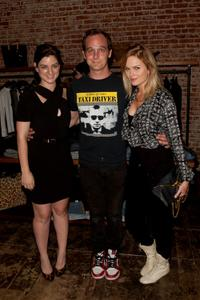 Ilaria Urbinati, Ethan Embry and Sunny Mabrey at the Current Elliot, Confederacy and Vogue Present Fashion's Night Out.