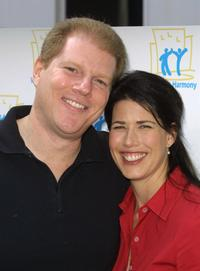 Noah Emmerich and Melissa Fitzgerald at the premiere screening of