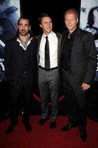 Colin Farrell, Edward Norton and Noah Emmerich at the New York premiere of