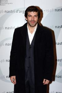 Pierfrancesco Favino at the Nastri D'Argento Ceremony (Italian Movie Awards presented by the Association of Film Critics).