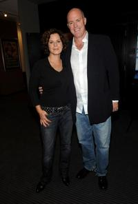 Marcia Gay Harden and Michael Gaston at the screening of