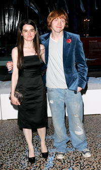 Shirley Henderson and Rupert Grint at the World Premiere of