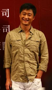 Wu Jing at the promotional activity of
