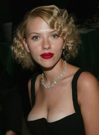 Scarlett Johansson at the 2004 Tony Awards Gala.