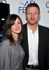 Jane Parker and Kevin McKidd at the 2008 AFI FEST Tribute to Danny Boyle.