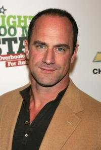 Christopher Meloni at the benefit event