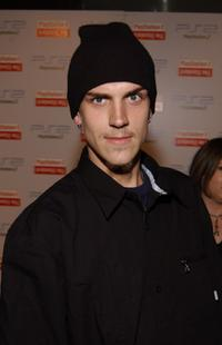 Jason Mewes at the grand opening of hotel Playstation 2.