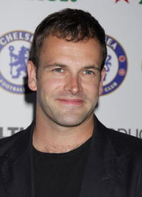 Jonny Lee Miller at the Chelsea FC Soccer party.