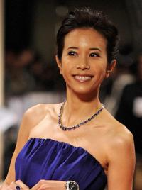 Karen Mok at the 45th Golden Horse Film Awards.