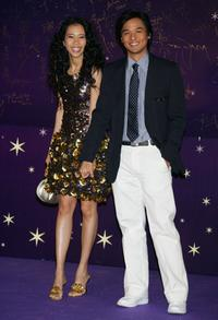 Karen Mok and Stephen Fung at the 25th Hong Kong Film Awards.
