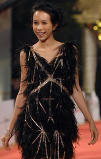 Karen Mok at the Golden Horse Film Awards.