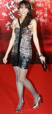 Karen Mok at the 27th Hong Kong Film Awards.