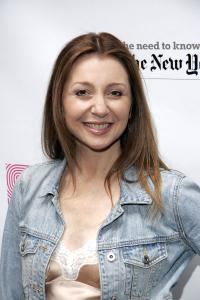 Donna Murphy at the 19th Annual Broadway Flea Market and Grand Auction.