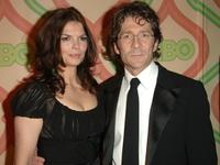 Jeanne Tripplehorn and Leland Orser at the HBO's Post Golden Globe After Party.