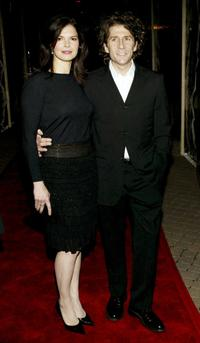 Jeanne Tripplehorn and Leland Orser at the premiere of