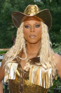 RuPaul at the Wigstock 2004.