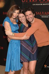 Leonor Watling, Ingrid Rubio and Leonardo Sbaraglia at the photocall of