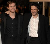 Daniel Bruhl and Leonardo Sbaraglia at the Goya Cinema Awards ceremony.