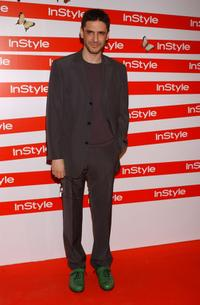 Leonardo Sbaraglia at the In Style Gala Dinner.