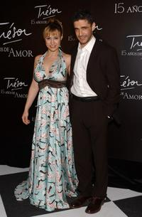 Natalia Verbeke and Leonardo Sbaraglia at the Lancome Gala Dinner celebrating the 15th anniversary of their
