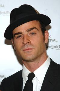 Justin Theroux at the New York Film Festival's presentation of