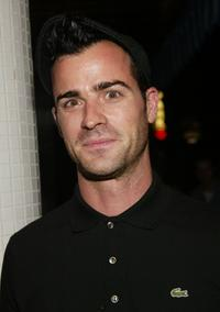 Justin Theroux at the New York after party premiere of