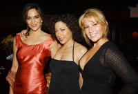 Polly Draper, Mimi Lieber and Ari Graynor at the after party of the opening of