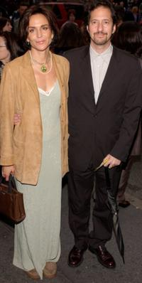 Polly Draper and her husband at the opening night of