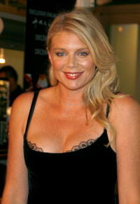Peta Wilson at the premiere of