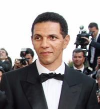 Roschdy Zem at the 59th edition of the International Cannes Film Festival.