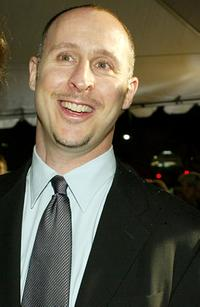 Gavin O'Connor at the premiere of
