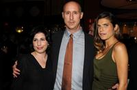Sue Kroll, Gavin O'Connor and Lake Bell at the after party of the New York premiere of