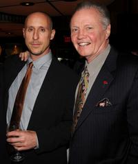 Gavin O'Connor and Jon Voight at the after party of the New York premiere of