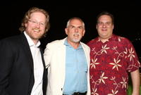 Andrew Stanton, John Ratzenberger and Jeff Garlin at the after party of the world premiere of