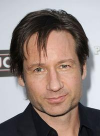 David Duchovny at the California premiere of