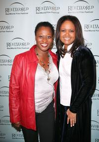 Arlene Duncan and Tonya Lee Williams at the opening night gala screening of