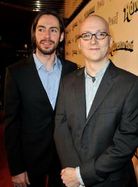Martin Starr and Greg Mottola at the red carpet of