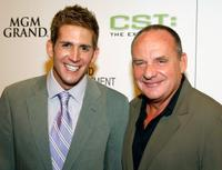 Eric Szmanda and Paul Guilfoyle at the grand opening of